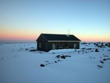 Mauna Loa's summit cabin.
